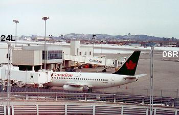 Air Canada - Canadian C-GQBH fin CP734