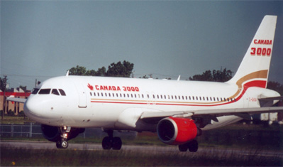 Airbus A320 (Canada 3000)